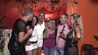 German mature swingers having fun
