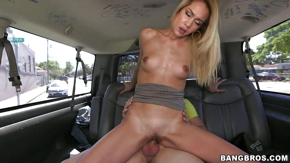 mila blaze in we picked up a blonde slut and let her suck