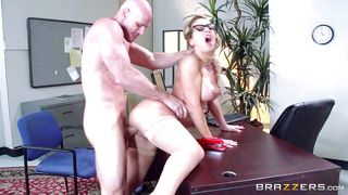Attractive Cherie Gets Banged At Work