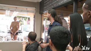 Flashing Outside The Barber Shop  Season 4, Ep. 1 0