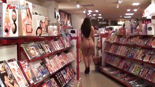 FUN MOVIES Naked Shopping at Night