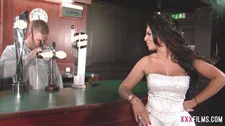 Pure Xxx Films-Busty Cuckold Bride Shagging The Bartender PornZek.Com
