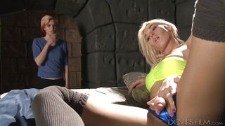 Surprise Waits In The Hole  Tranny Glory Hole Surprise