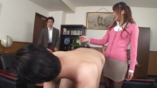 All Japanese Pass-Chick Caught With Her Colleague PornZek.Com