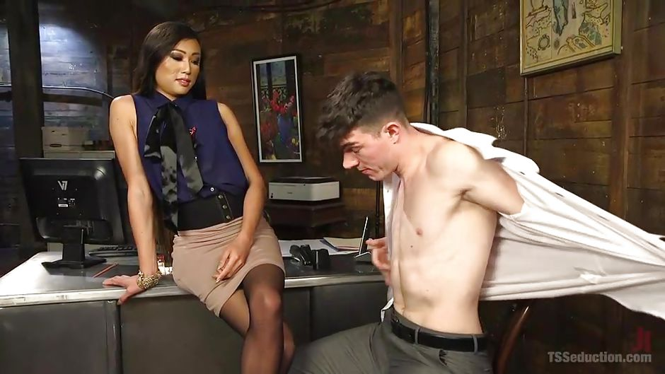 Hot Mistress Uses Her Loser Slave As A Sex Toy  flyflvcom