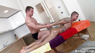 Gay Massage Turns Into Some Sex Action