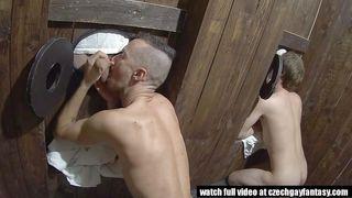 Czech Gays Head To The Gloryholes