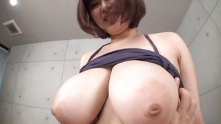 Groping A Pair Of Huge Soft Boobs