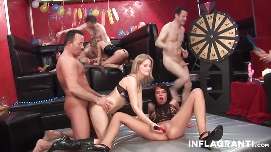 German Swinger Gangbang