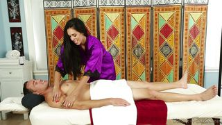 A Massage Will Relax Him