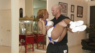 Playing With A Tranny Cheerleader  Transsexual Cheerleaders #14