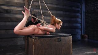 Moaning Bitch Gets Tied Up