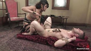Pleasure And Pain For Her Tied Man