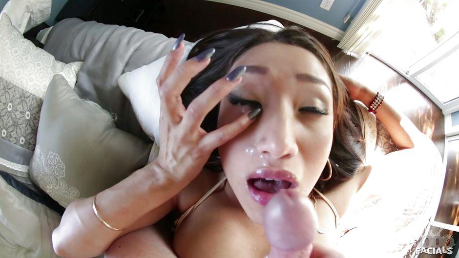 Vicki Chase Blowjob Facial Cumshot Brunette Pornhd8K 1