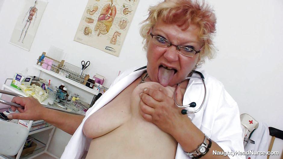 Horny old nurse