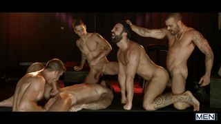 Horny Men Craving For An Orgy