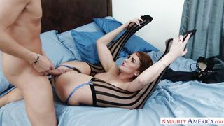 Naughty America-Horny Rich Girl Takes A Big Cock In Her Tight Pussy PornZek.Com