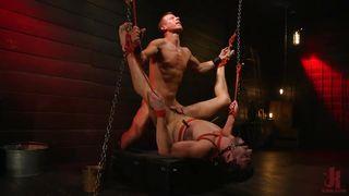 Rough Punishment In A Dark Basement
