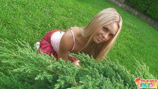 Sabrina As A Seductive Gardener