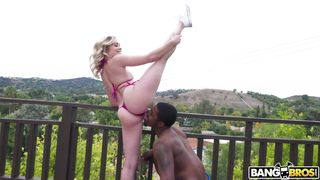 Flexible Blonde Is Ready For A Bbc