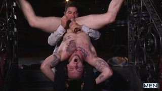 Elegant Gay Men Get Undressed