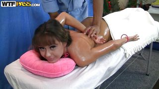 Oily Massage For A Russian Beauty