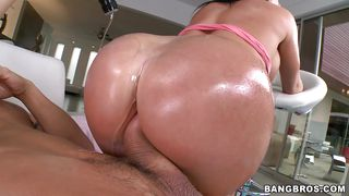 A Gorgeous Ass Drilled And Oiled
