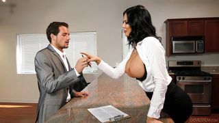 His Busty Boss Loves Fucking In The Workplace  Big Tit Office Chicks #06