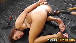 Girls Have Fun With A Strap On And An Asshole
