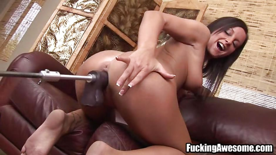 Huge Black Dildo In Ass