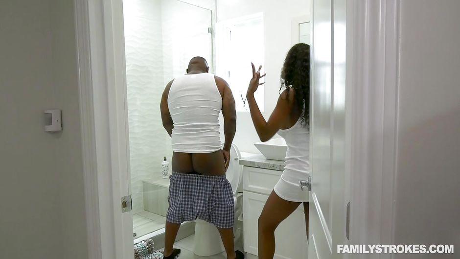 Rico Strong Ebony Fat Ass