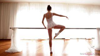 Nubiles Porn-Petite Ballerina Gives A Blowjob On The Barre PornZek.Com