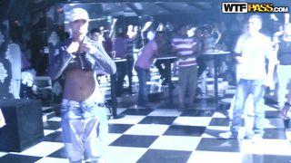 Wtf Pass-Chick Goes Wild In A Russian Club PornZek.Com