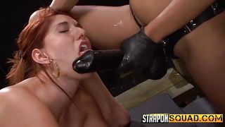 Rose Red Becomes A Slave For A Horny Lesbian