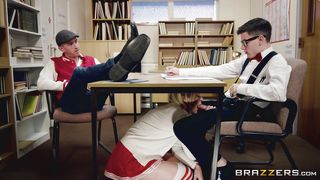 Brazzers-Cheerleader Fucked In Detention PornZek.Com