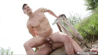 Boys Get In Touch With Nature And Cock