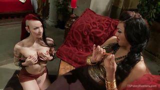 Tranny Mistress Controls A Punk Chick