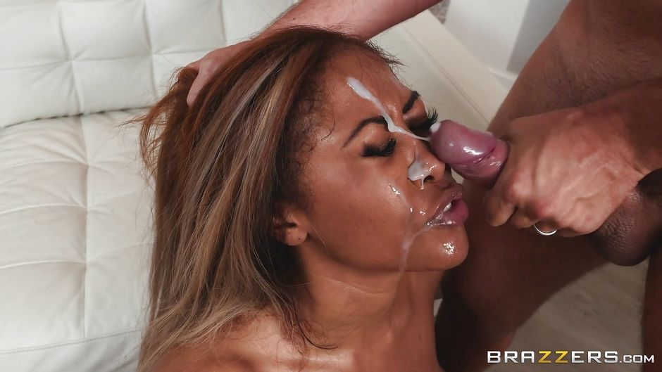 Mature mom rides black salami while son watch - 3 part 2
