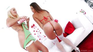 Cute Babes Show Off Their Magnificent Asses  Outtakes-cream Dreams #03