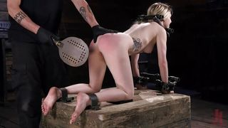 Hard Metal Bondage And Punishment For Violet October