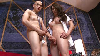 Nurse Nina Fucks The Doctor  Transsexual Nurses #13