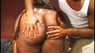 Big Ass Busty Ebony Loves Sucking Cock