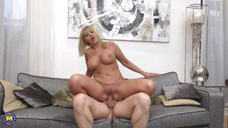 Foxy Mature Lady Gabrielle Gets Fucked Hard