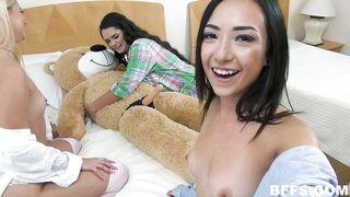 Best Friends Get Naughty In The Bedroom