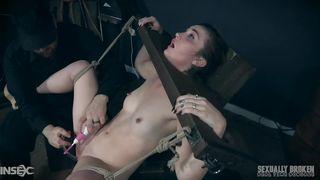 Kat Monroe Gets A Metal Hook In Her Pussy