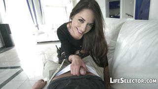 Life Selector-Cute Brunette Enjoys Being Fucked In The Ass-Nomi Melon PornZek.Com