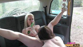Female Fake Taxi-Spread Eagle In The Back Of A Taxi PornZek.Com