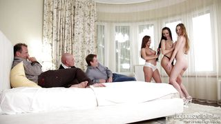 Wife Swap And Pussy Licking  Swingers Orgies #08