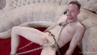 Chained Male At The Mercy Of His Mistress