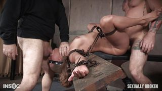 Sexually Broken-Tied Up Julia Gets Mouth And Ass Fucked Hard PornZek.Com